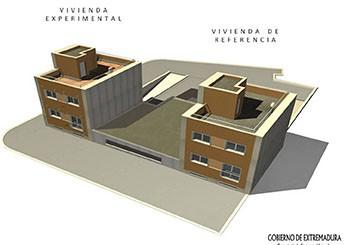 Extremadura seleccionada entre uno de los 16 proyectos experimentales más destacados del mundo en materia de eficiencia energética en edificios