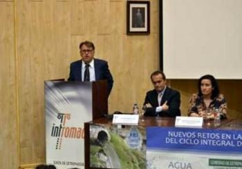 Víctor del Moral apuesta por la I+D+i como una alternativa de futuro en el sector hidráulico extremeño